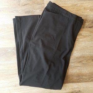 Lane Bryant Black Bootcut Trouser Pants 24T